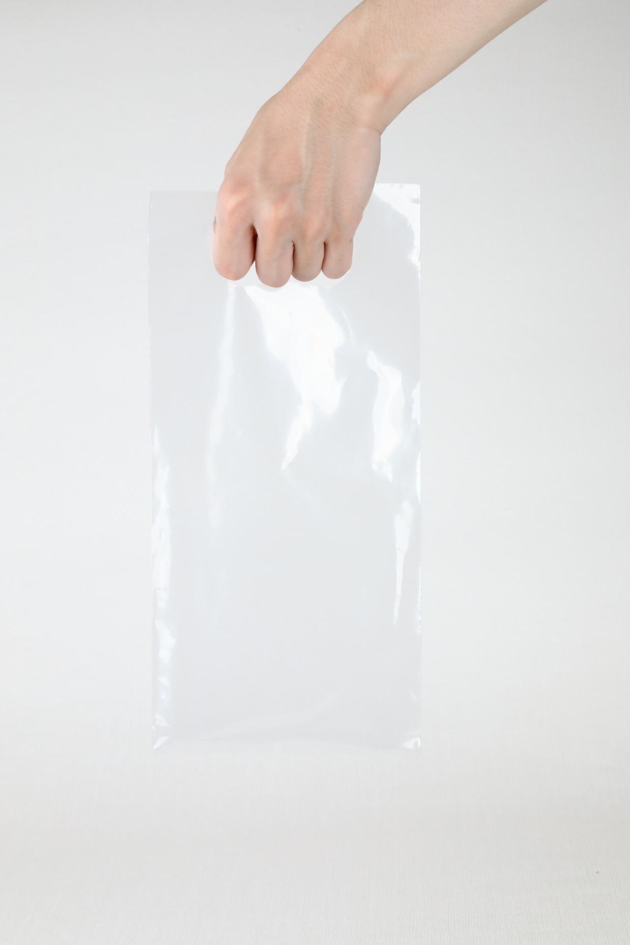 ラッピング袋(小)持ち手穴つき